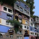 Hundertwasser - dziwne domy Wiedeń