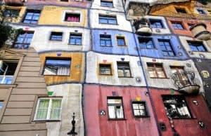 Ciekawe miejsca - dom w Wiedniu