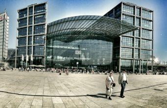 Dworzec Główny Berlin Hauptbahnhof