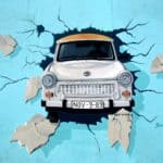 The East Side Galery - trabant