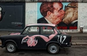 The East Side Gallery - The Berlin Wall